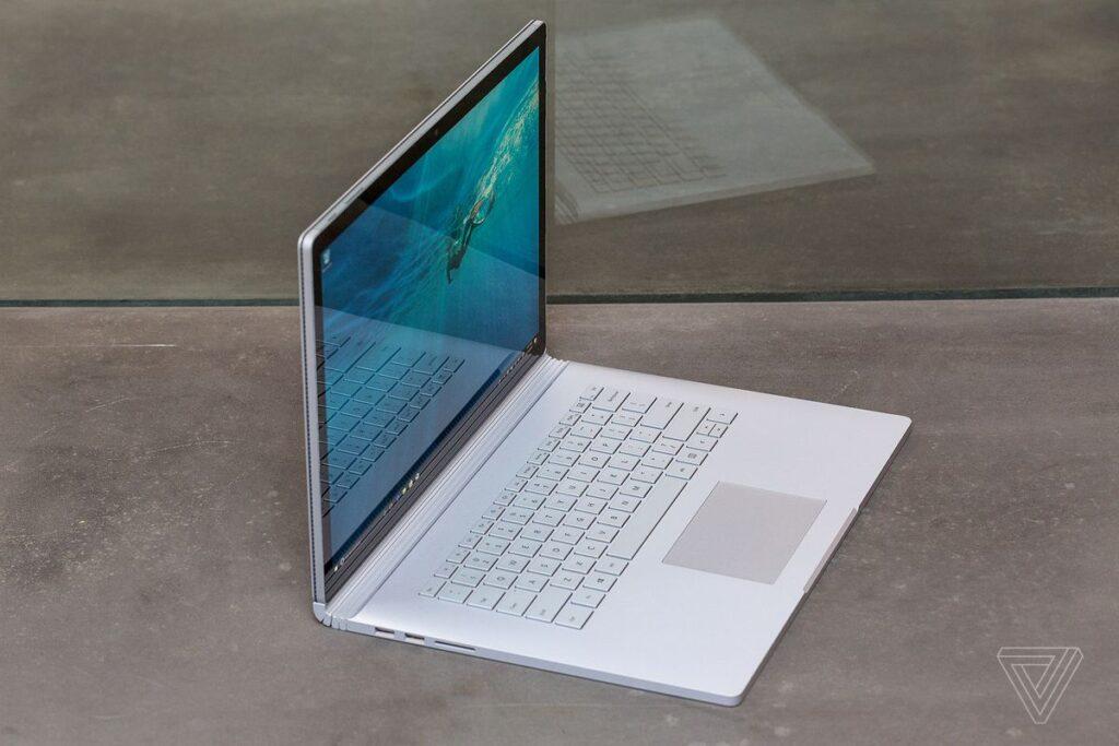 Microsoft surface Book2,