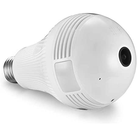 MELESPLUS P6 Light Bulb Camera