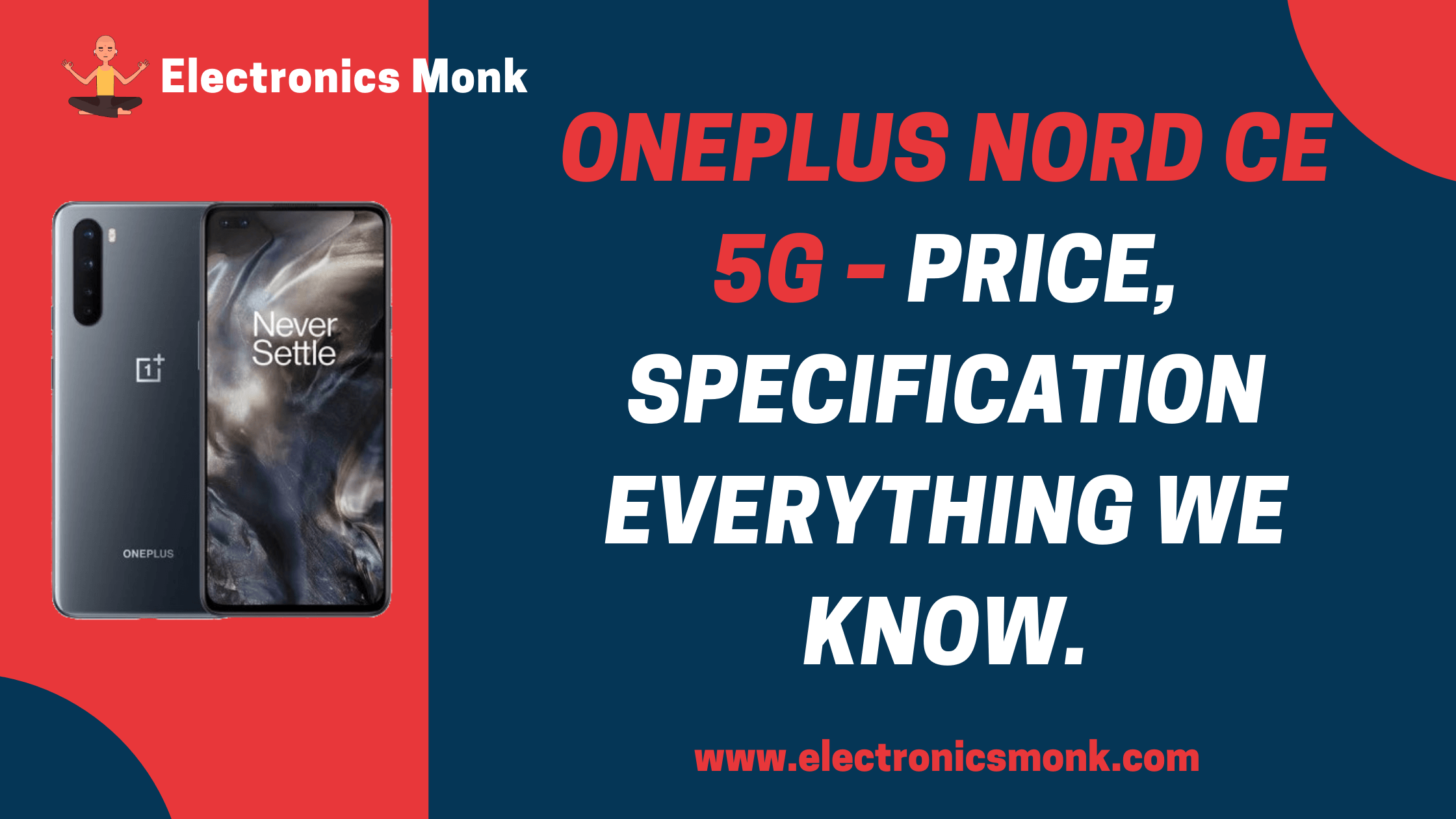 Oneplus Nord CE 5G - Price, Specification everything we know