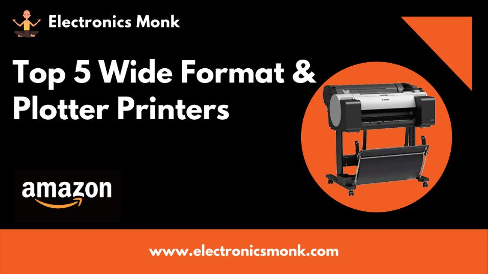 top 5 wide format & plotter printers on Amazon