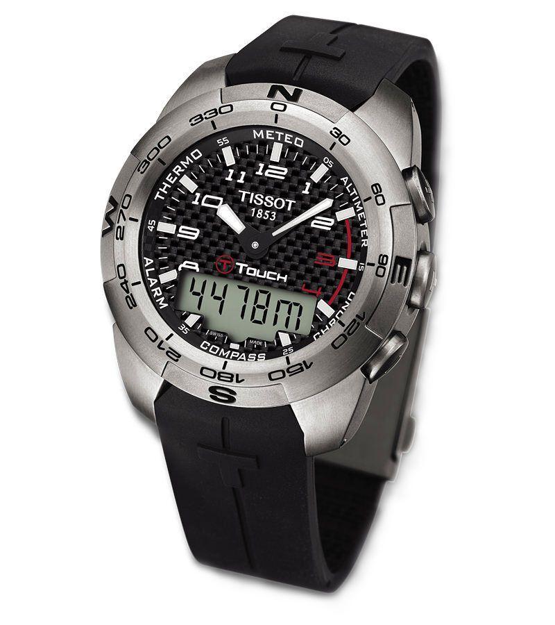 Tissot T-Touch Expert Analog- Solar Powered Watch