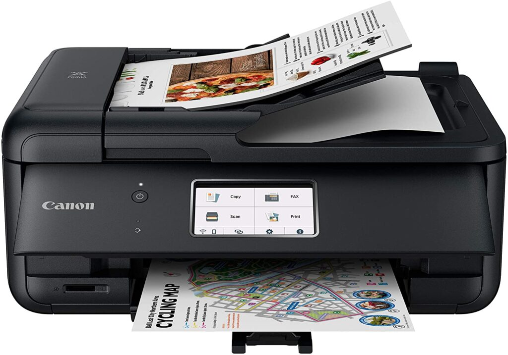 Canon Pixma TR8620- Best printer for work from home