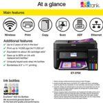 Epson WorkForce EcoTank ET-3750- Printer with Refillable Ink-2