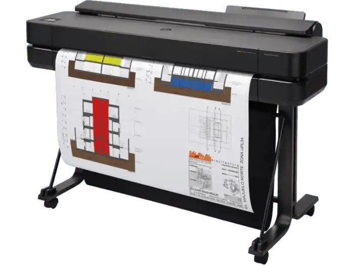 HP DesignJet T650- Wide Format & Plotter Printer