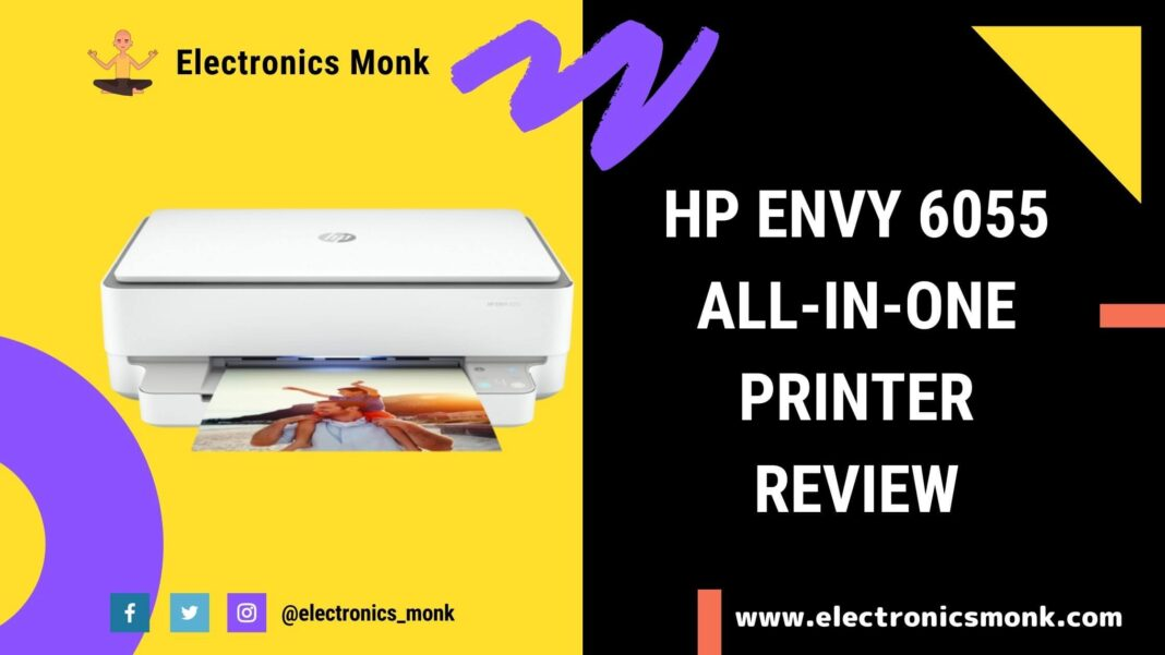 HP Envy 6055 All-in-One Printer Review