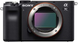 Sony Alpha 7c - Well suited for vlogging