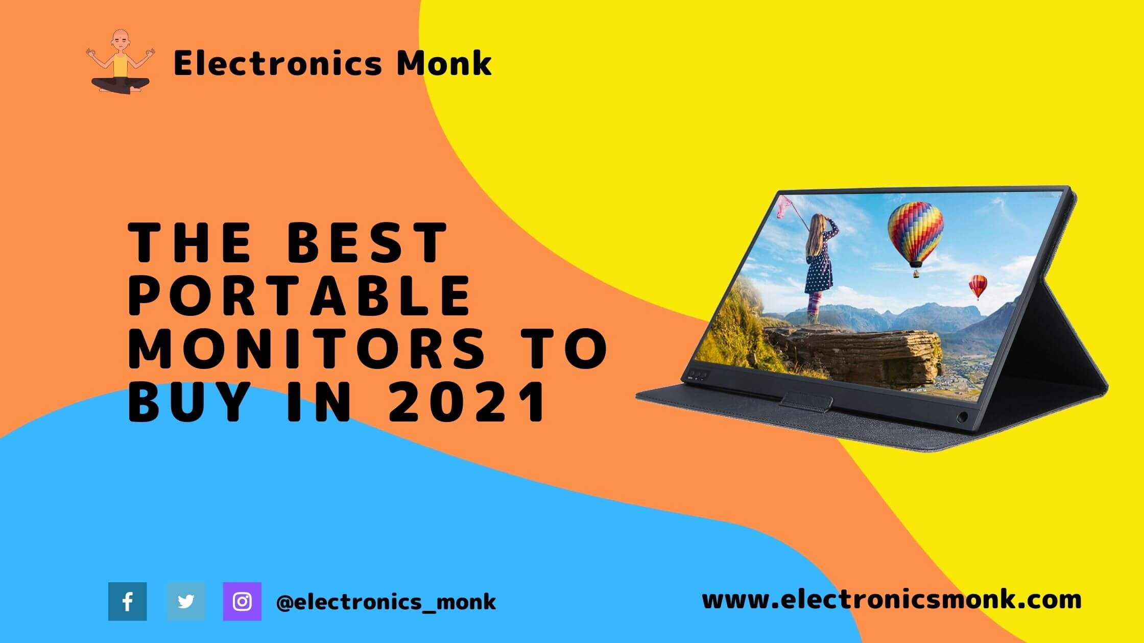 The Best Portable Monitors to Buy in 2021