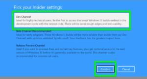 steps for installing Windows 11