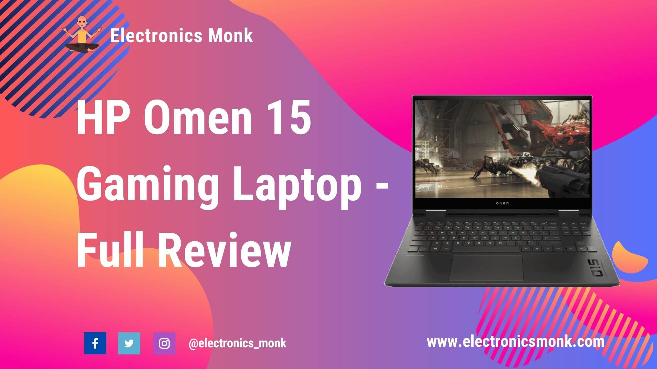 HP Omen 15 Gaming Laptop - Full Review