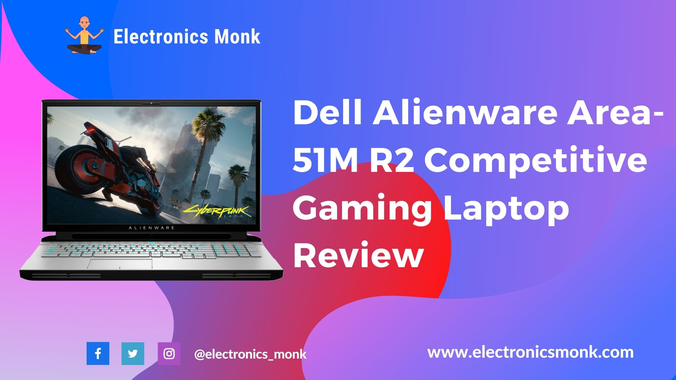 Dell Alienware Area-51M R2 Competitive Gaming Laptop Review