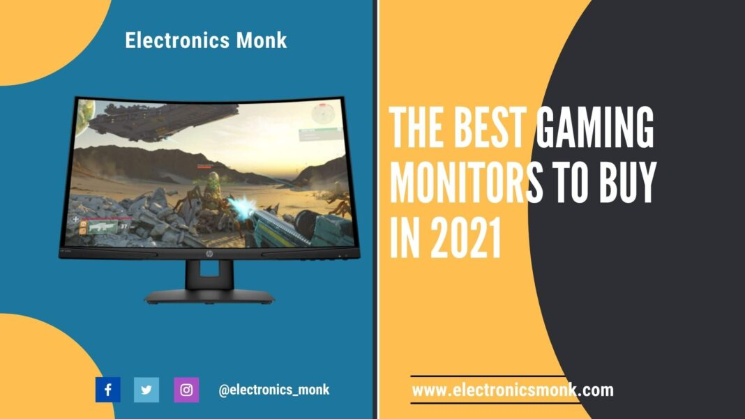 The Best Gaming Monitors to Buy in 2021
