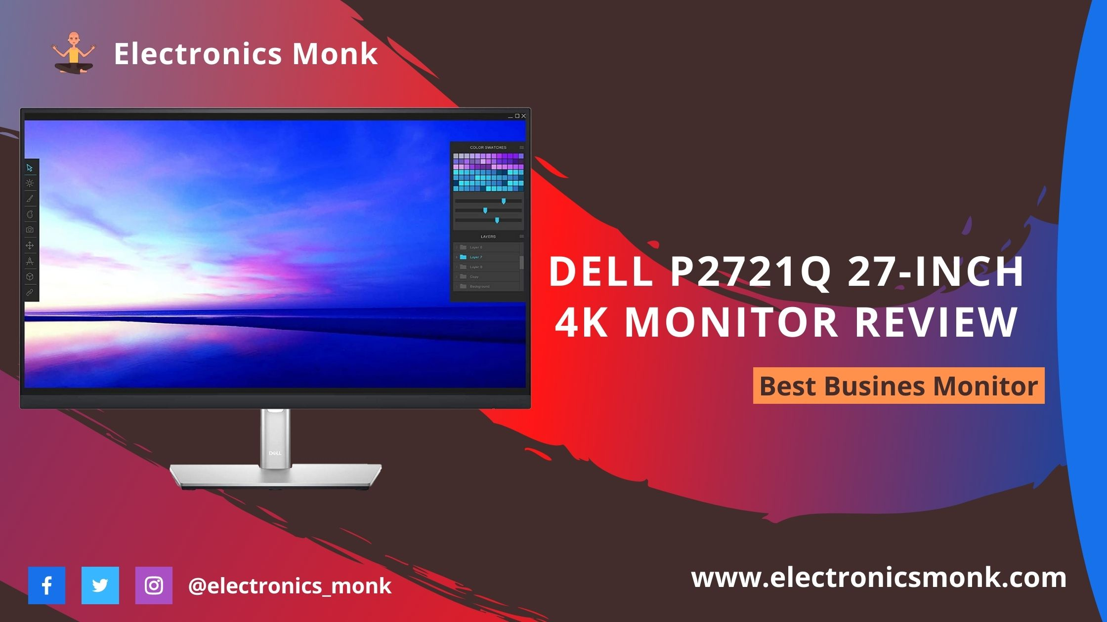 Dell P2721Q 27-inch 4K Monitor Review