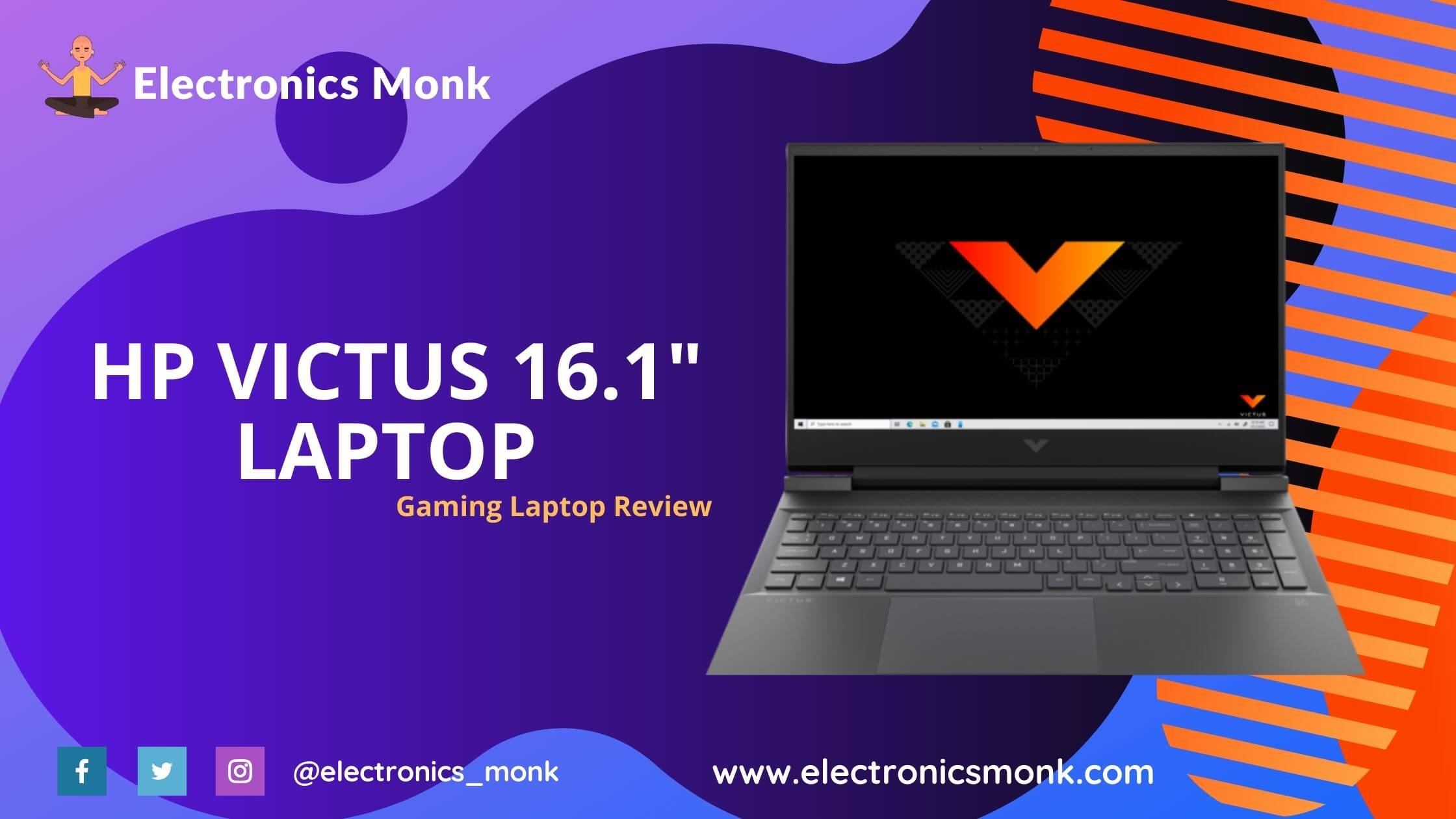 HP Victus 16.1 Gaming Laptop Review