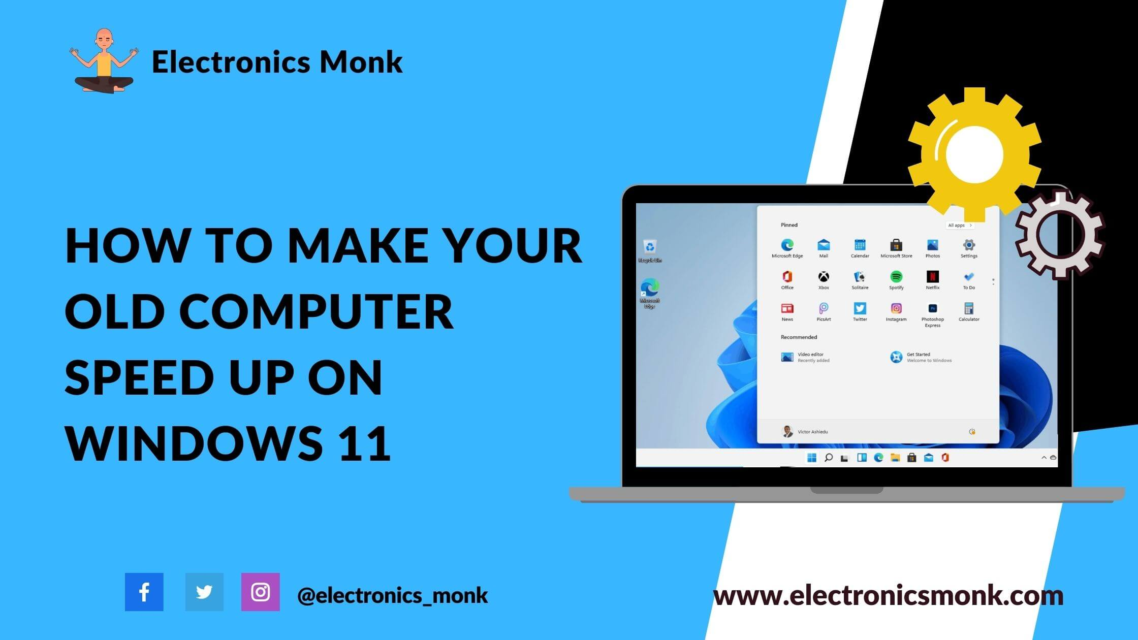 How To Make Your Old Computer Speed Up On Windows 11
