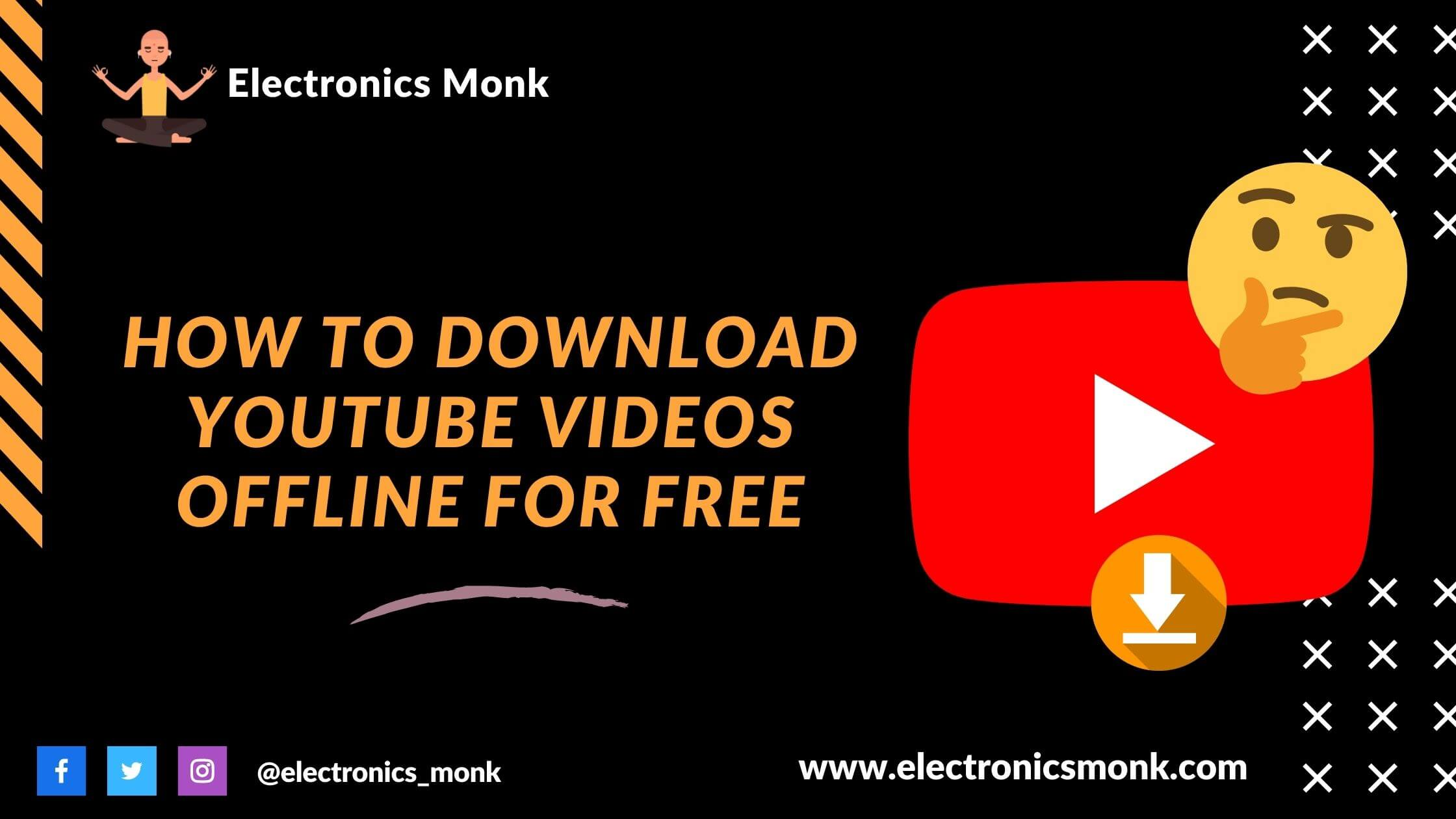How to Download YouTube Videos Offline for Free
