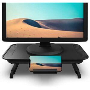 Klearlook Foldable Adjustable Monitor Stand for Desk