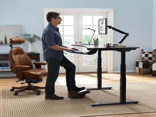 Branch Height Adjustable Standing Desk (1)