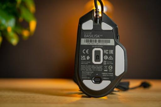Button and Sensor of Razer Basilisk V3 Gaming Mouse