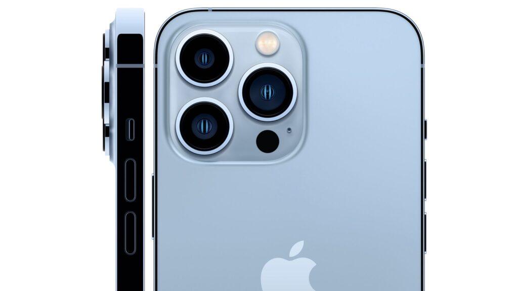 Camera of iPhone 13