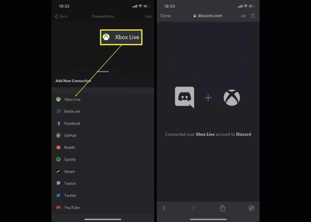 Click on Xbox Live