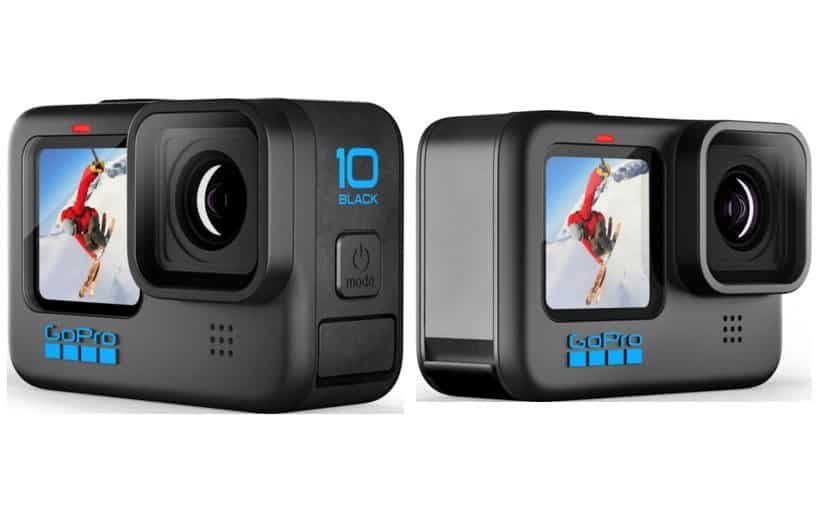 Design of GoPro Hero 10 Black