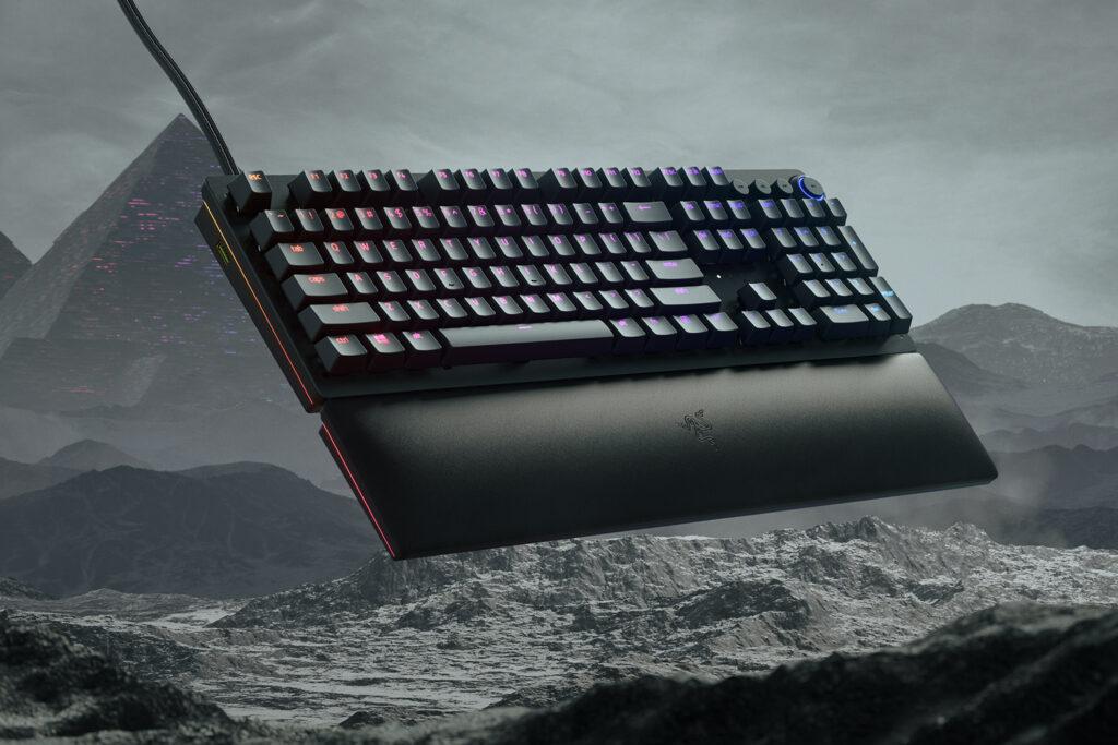 Design of Razer Huntsman V2 Keyboard