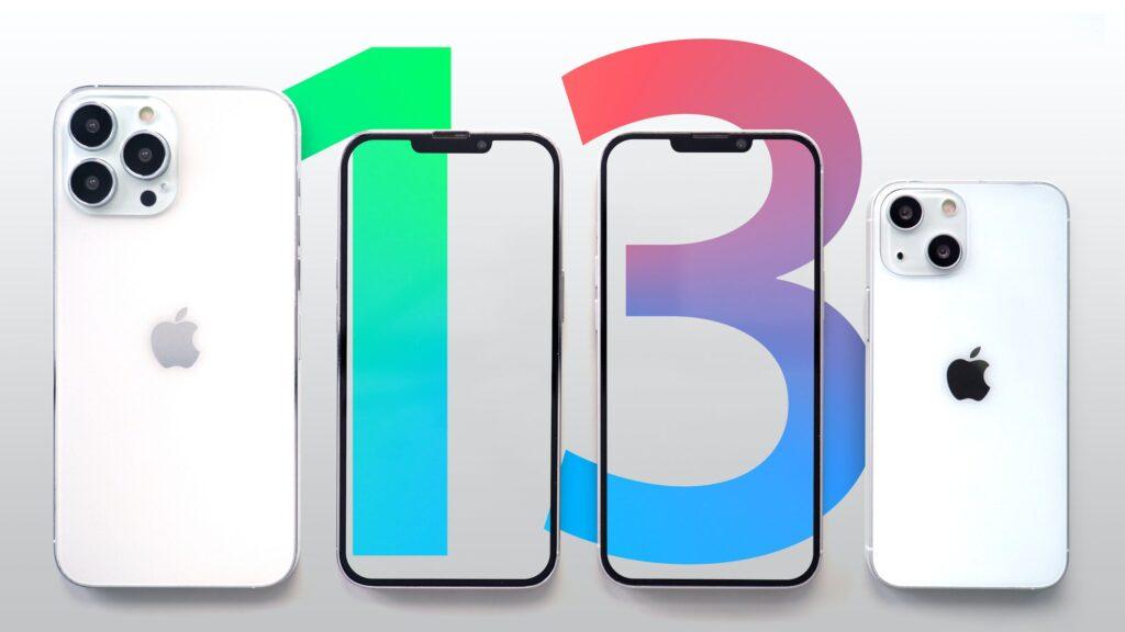 Design of iPhone 13