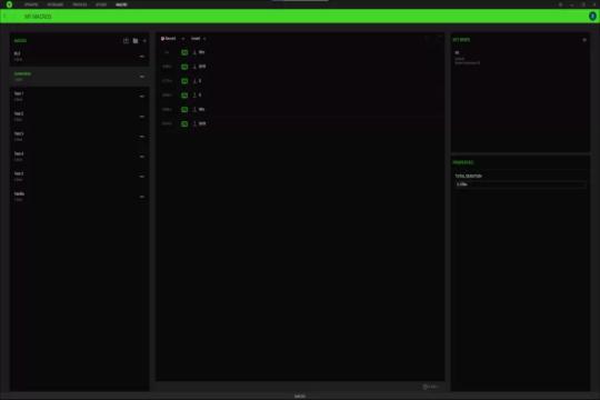 Feature and Software Razer Huntsman V2 Analog Gaming Keyboard