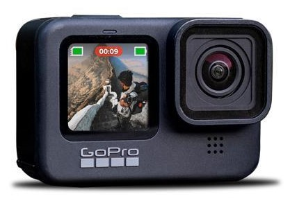 Front Screen of GoPro Hero 10 Black