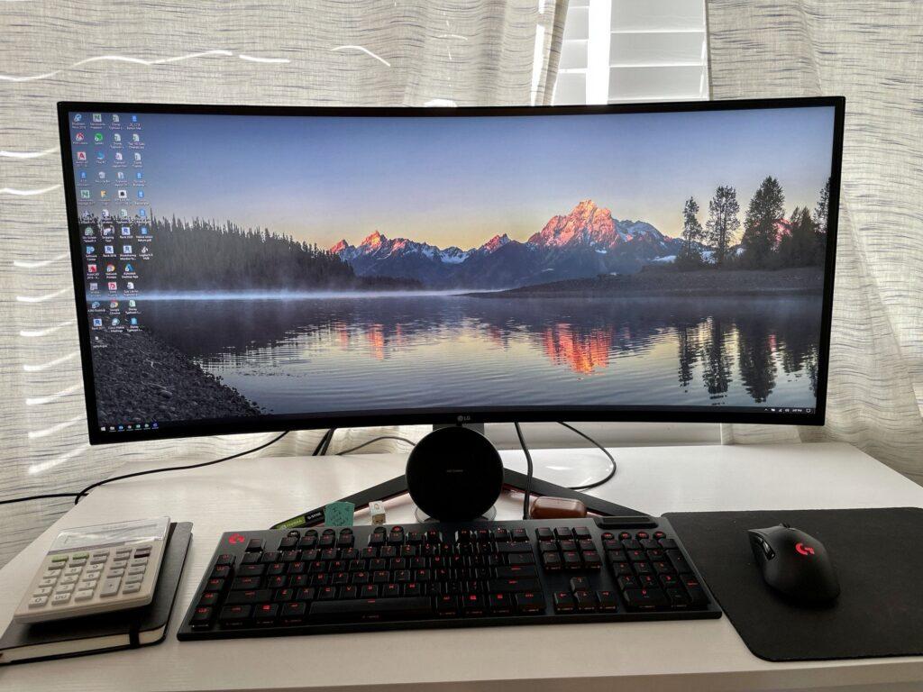LG32GP83A-B 34-inch Gaming Monitor