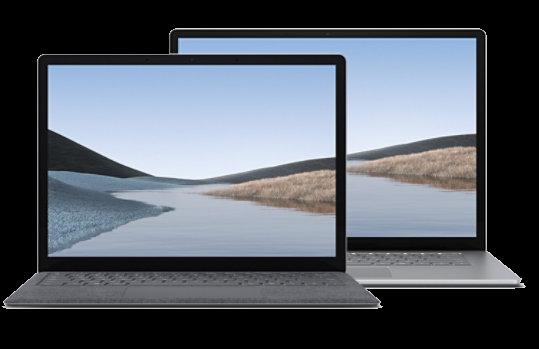 Design of Microsoft Surface Laptop 4