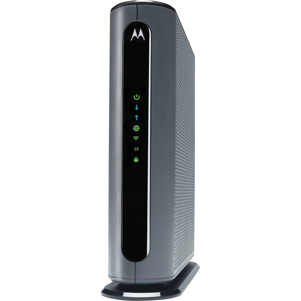 Motorola MG7700 Router and Cable Modem