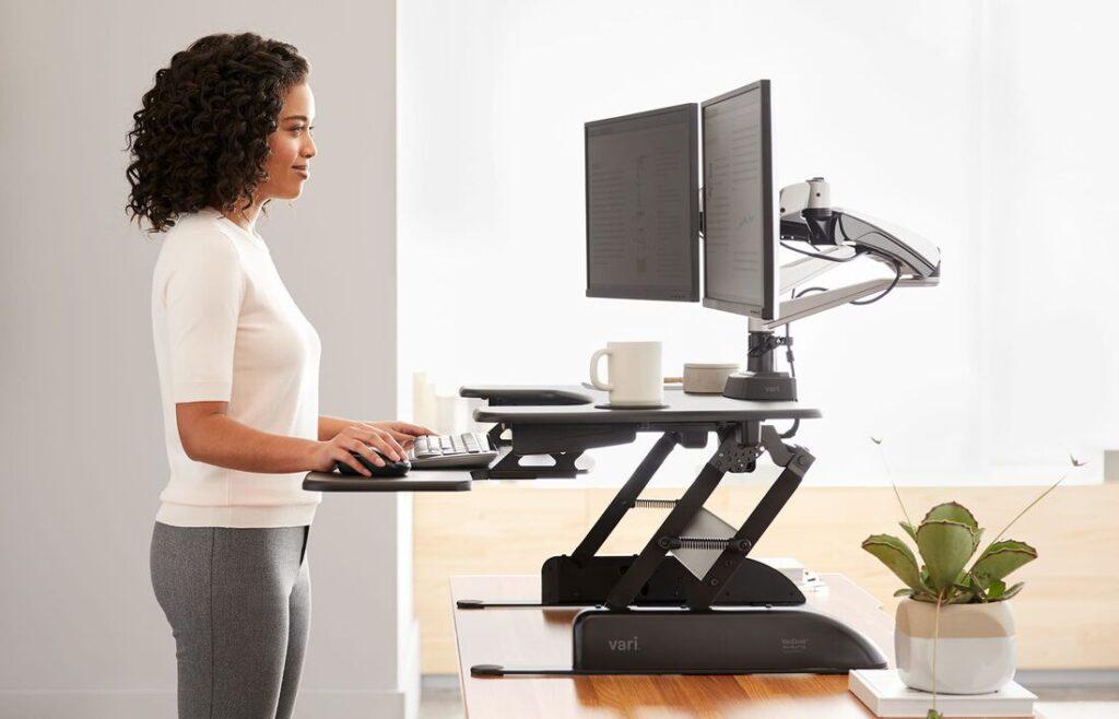 Stability of Varidesk Pro Plus 36 Standing Desk