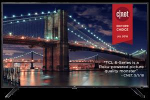 """TCL 55R617 Roku 55"""" TV"""
