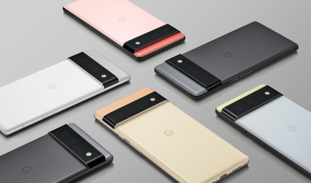 Design and Color of Google Pixel 6