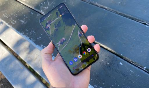 Display of Google Pixel 6