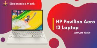 HP Pavilion Aero 13 Laptop Review