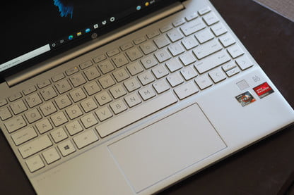 Keyboard and TouchPad - HP Pavilion Aero 13 Laptop Review